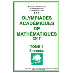 OLYMPIADES 2017 - Énoncés