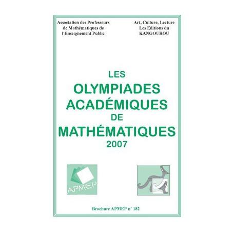 OLYMPIADES 2007