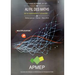 AU FIL DES MATHS - Le bulletin de l'APMEP n° 527
