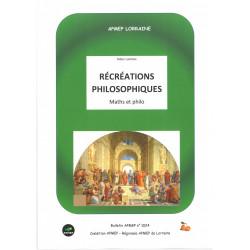 RÉCRÉATIONS PHILOSOPHIQUES - Maths & philo