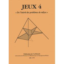 JEUX 4 - DE L'INTÉRÊT DES PROBLÈMES DE RALLYE