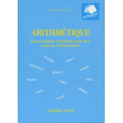 ARITHMÉTIQUE - Des résultats classiques par des moyens élémentaires