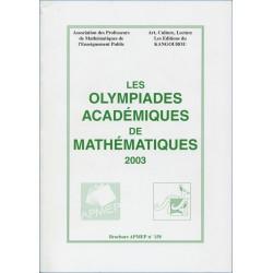 OLYMPIADES 2003