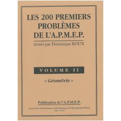 200 premiers problèmes de l'apmep - géométrie