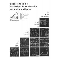 EXPERIENCES DE NARRATION DE RECHERCHE EN MATHEMATIQUES - ACL