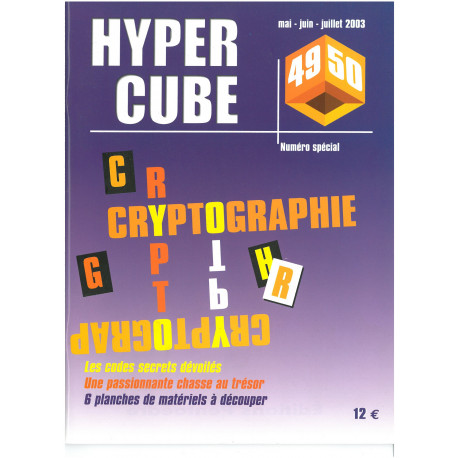 CRYPTOGRAPHIE N° 49-50 - HYPERCUBE