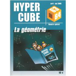 LA GEOMETRIE N°63-64 - HYPERCUBE