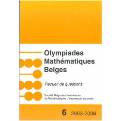 Olympiades Belges Tome 6