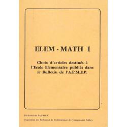 Elem-maths 1 - Choix d'articles école élémentaire