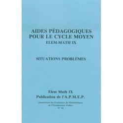 AIDES PÉDAGOGIQUES POUR LE CYCLE MOYEN ET SITUATIONS PROBLÈMES