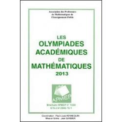 OLYMPIADES 2013