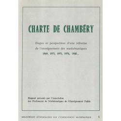 CHARTE DE CHAMBERY