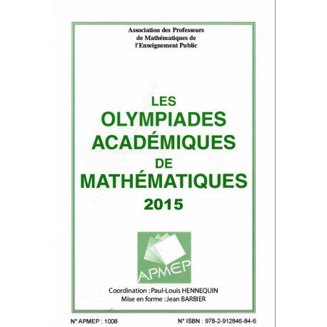 OLYMPIADES 2015