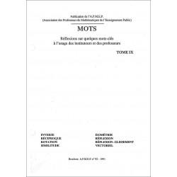 Mots IX